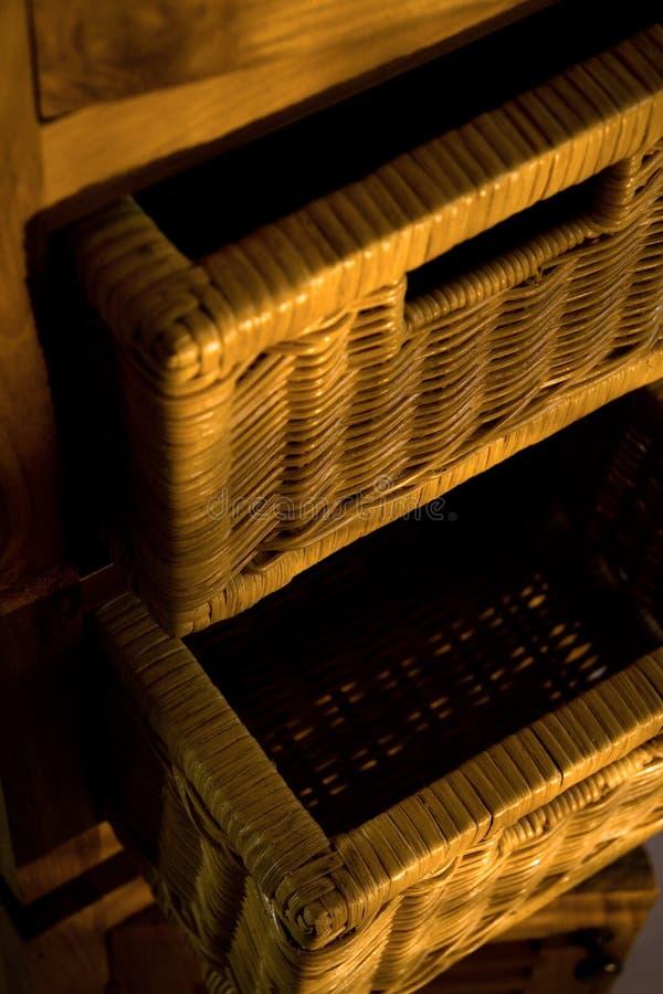 木的家具 免版税库存照片