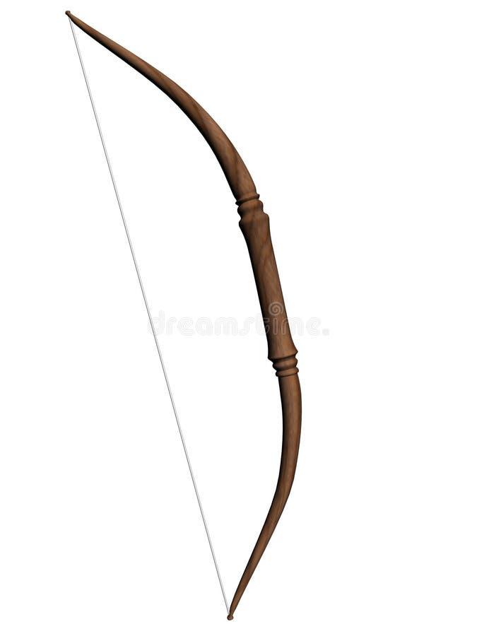 木的弓 免版税图库摄影