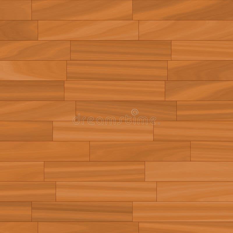 木的木条地板 库存例证