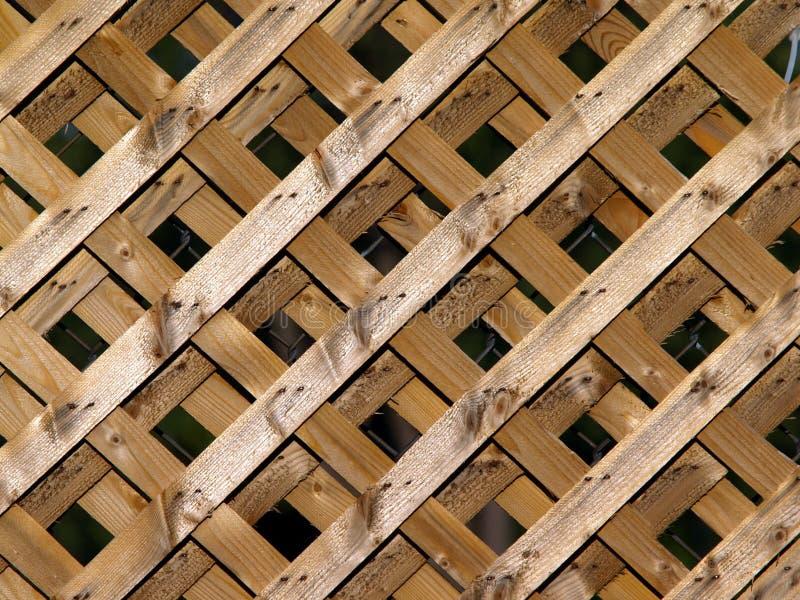 木的格子 免版税库存图片