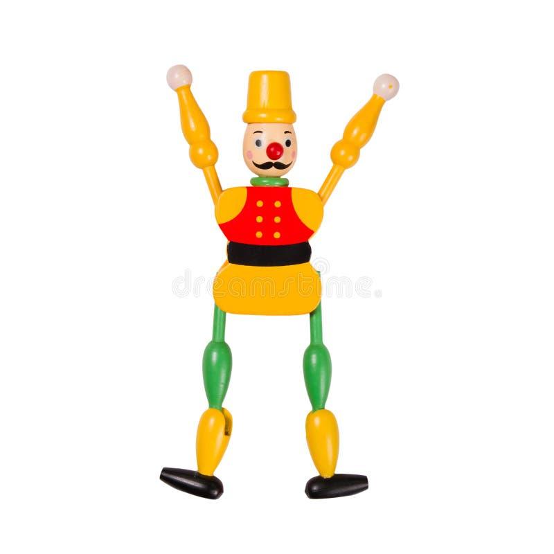 木的玩偶 免版税库存图片