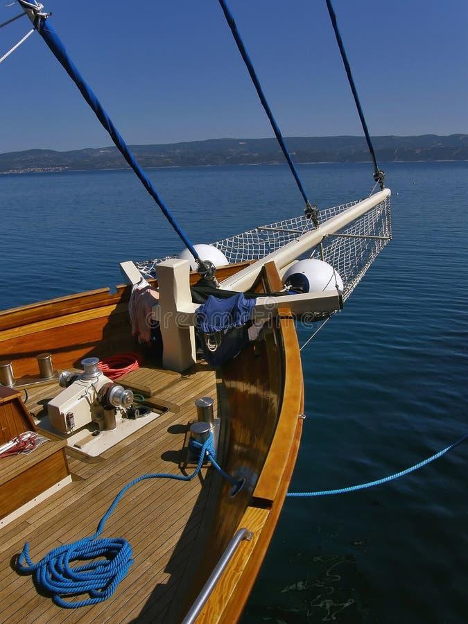 木的船 图库摄影