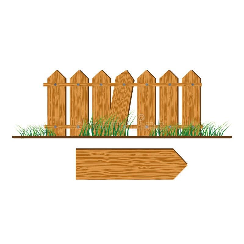 木的范围 库存例证