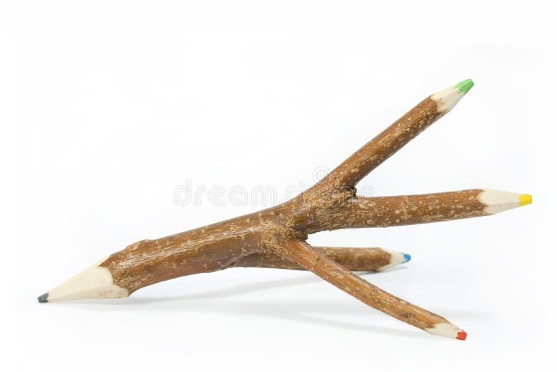 木的铅笔 库存照片