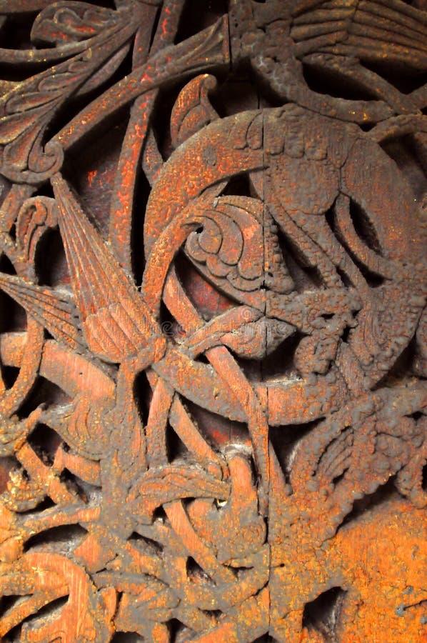 木的雕刻 免版税图库摄影
