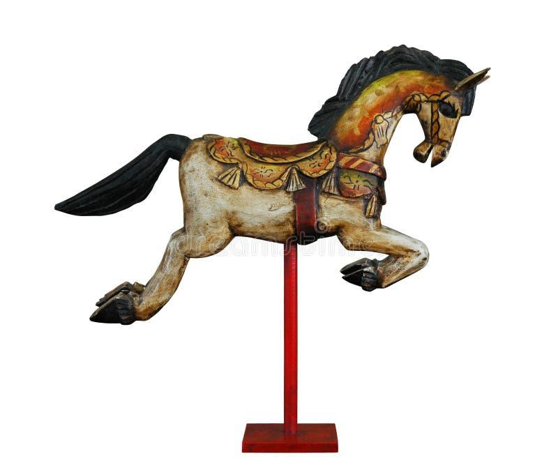 木的马 免版税库存图片