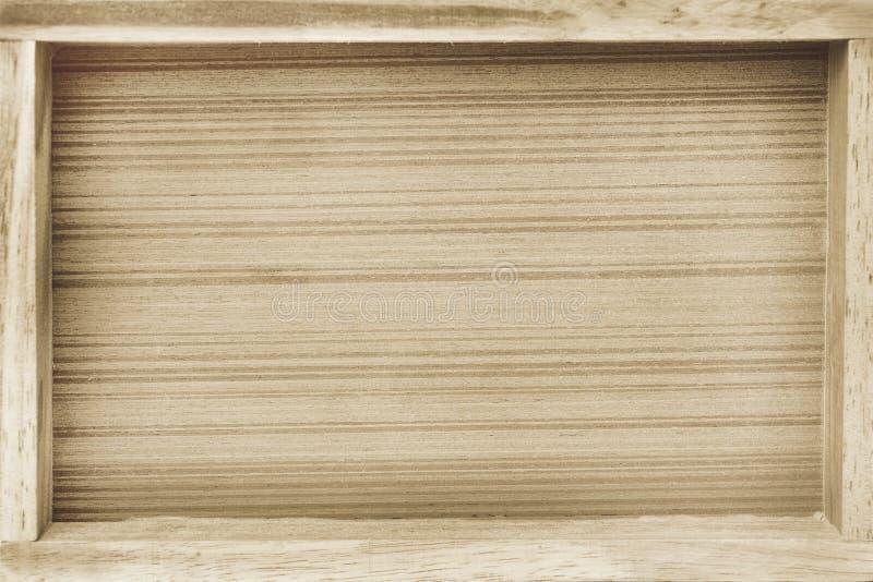 木盘子背景 免版税库存照片