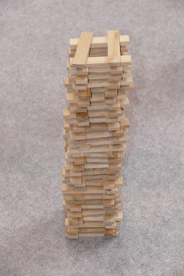 木砖成套工具玩具 免版税库存图片