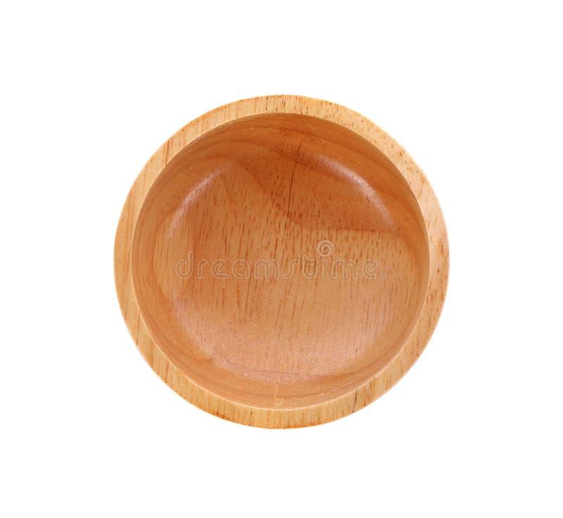 木碗 库存照片