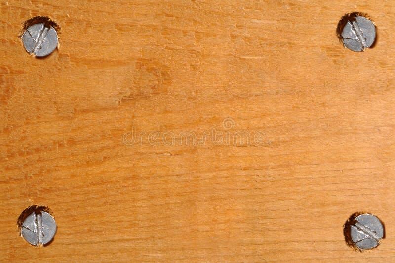 木空白的牌 库存图片