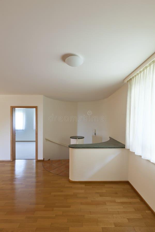木空的楼层的空间 免版税库存照片