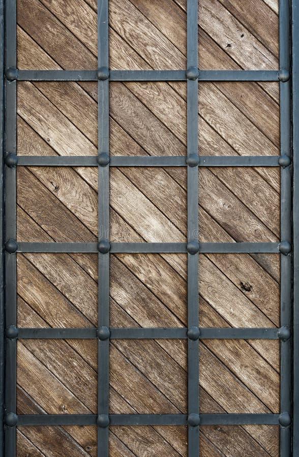 木穿的铁 库存照片