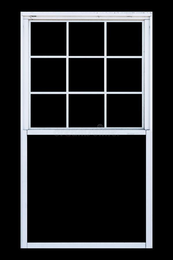 木窗口 向量例证