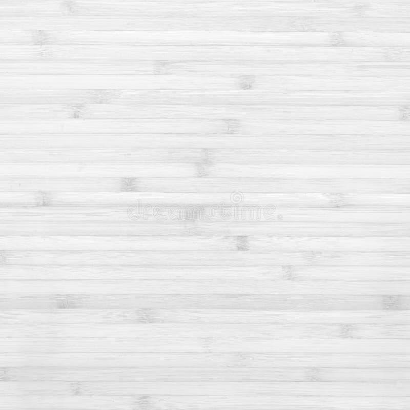 木竹板条白色纹理背景 图库摄影
