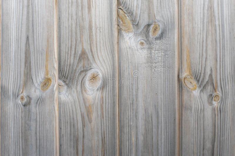 木篱芭有土气板条灰色吠声木头背景,抽象背景 免版税库存图片