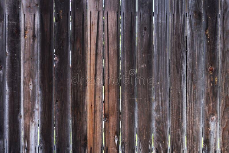 木篱芭纹理 库存照片