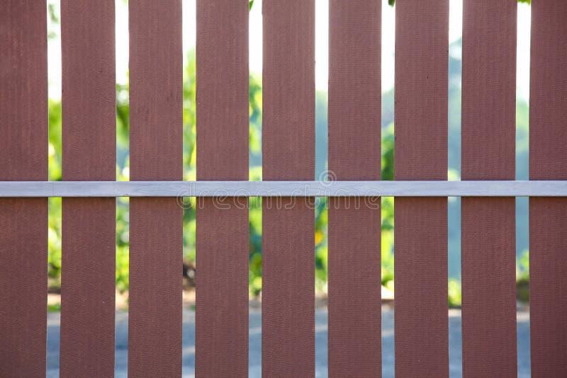 木篱芭背景样式 免版税库存照片