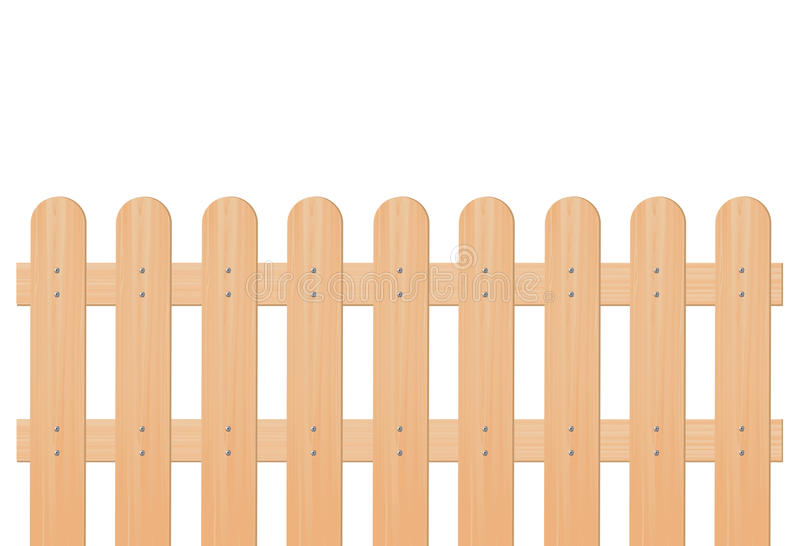 木篱芭 向量例证