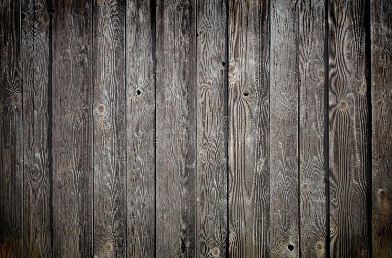 木纹理。 背景老面板 免版税库存图片