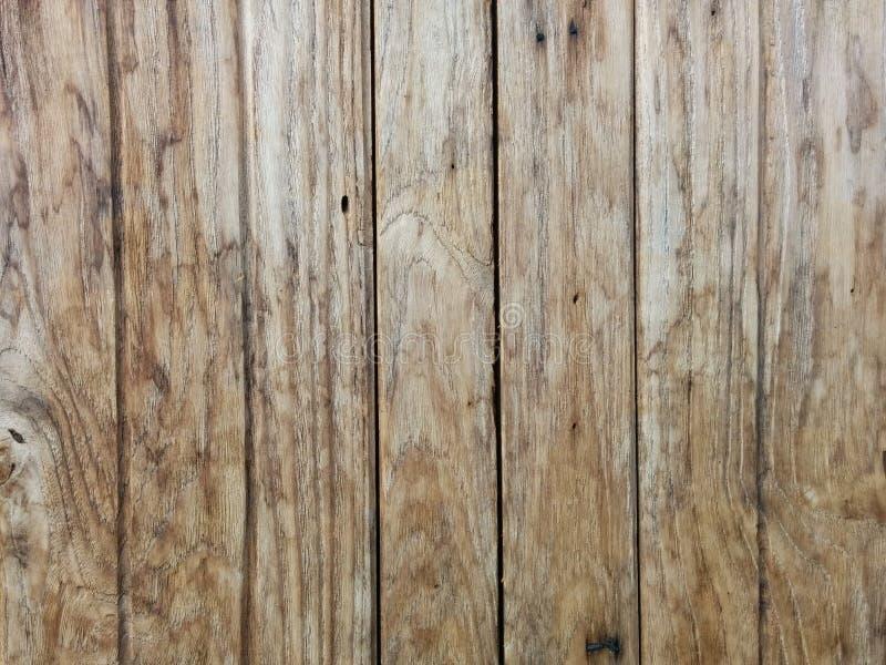 木纹理板条五谷背景、木书桌桌或者地板 图库摄影