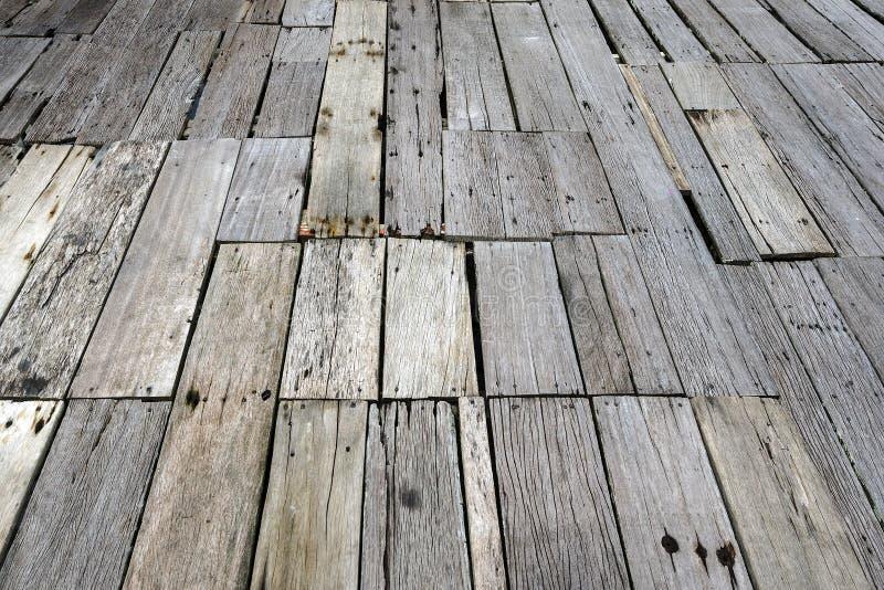 木纹理板条五谷背景,木地板 免版税库存照片