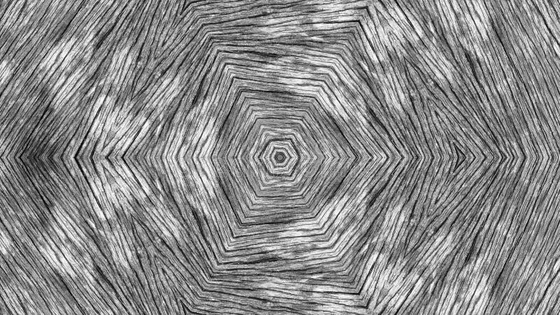 木纹理的例证 免版税库存照片