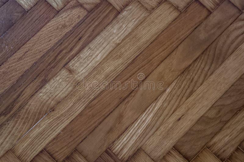木纹理背景瓦片 内部地板或外部desi 免版税库存照片