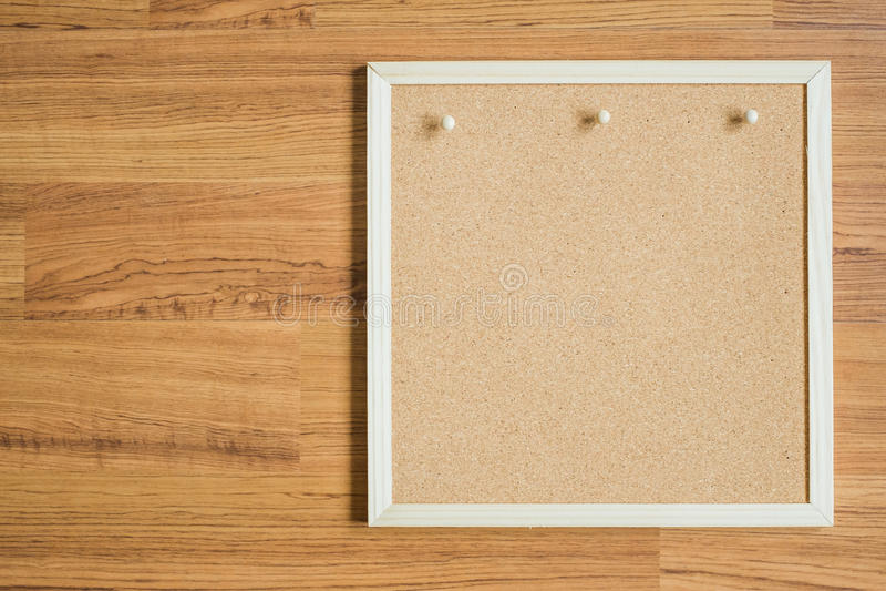 木纹理背景的委员会 库存图片