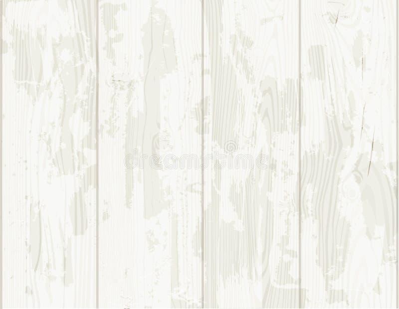 木纹理背景老盘区 向量例证