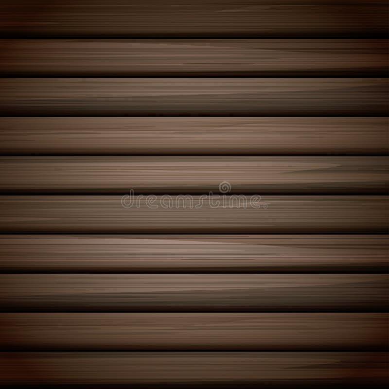 木纹理背景设计 向量例证