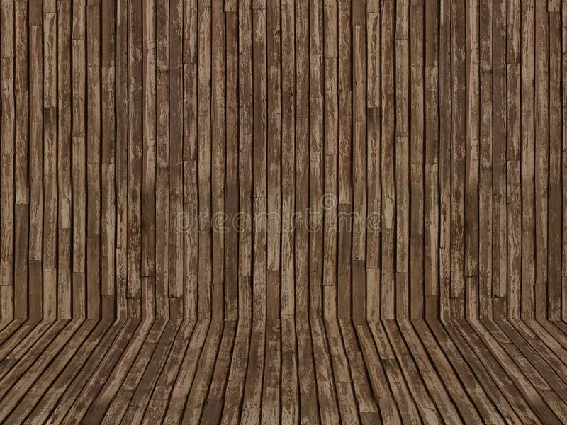 木纹理背景 库存例证