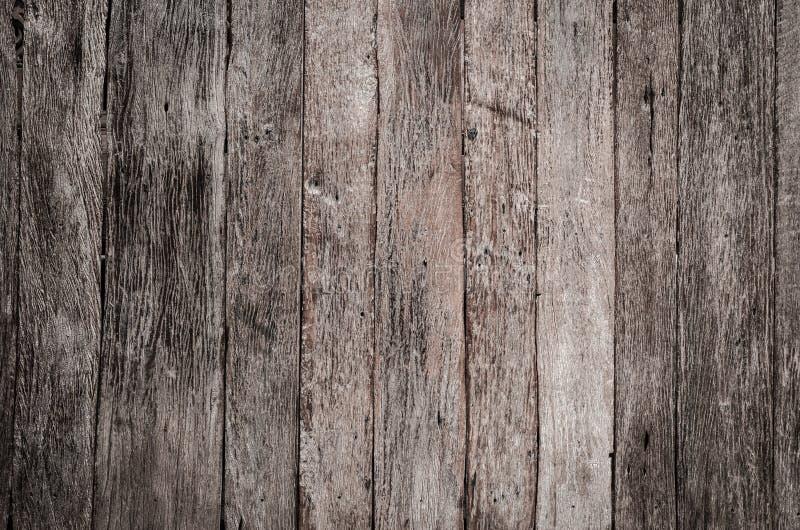 木纹理装饰篱芭墙壁表面 免版税图库摄影