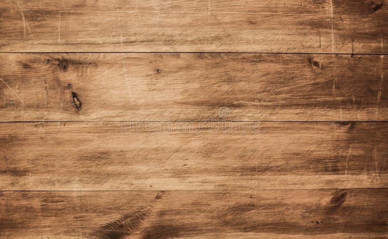 木纹理,棕色木背景 库存照片