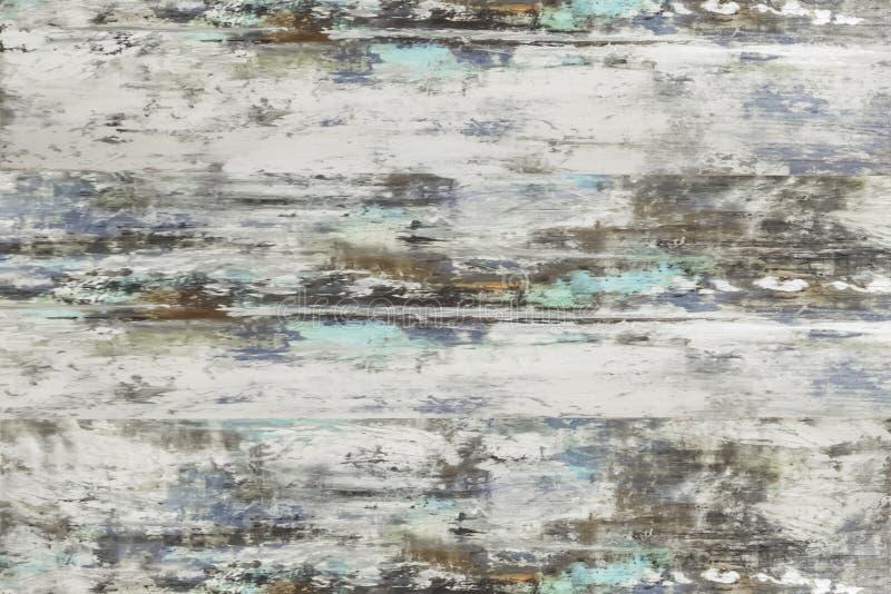 木纹理,白色木板条背景 库存图片