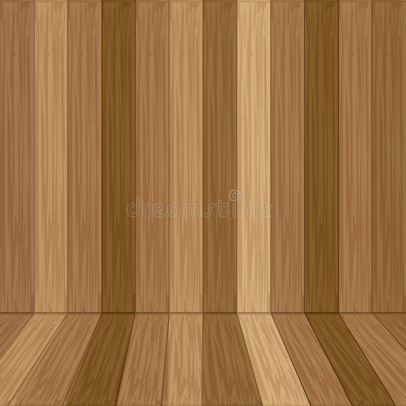 木纹理 向量例证