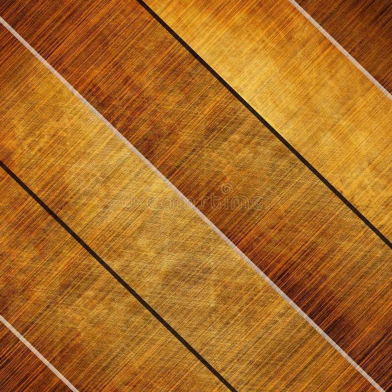 木纹理 库存例证
