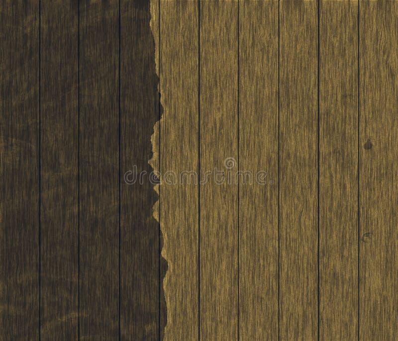 木织地不很细纸 胶合板上面 工艺的,纹理脏的粗砺的板料 图库摄影