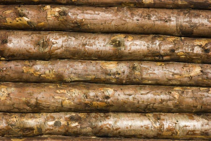 木结构的墙壁 免版税库存图片