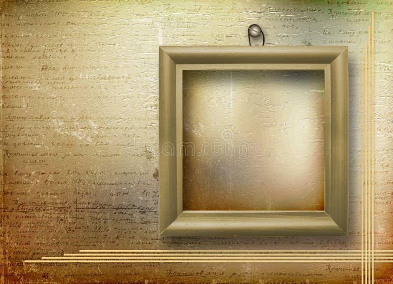 木结构的肖象 免版税库存图片