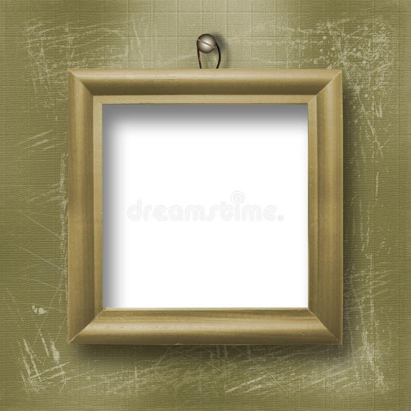 木结构的肖象 库存照片