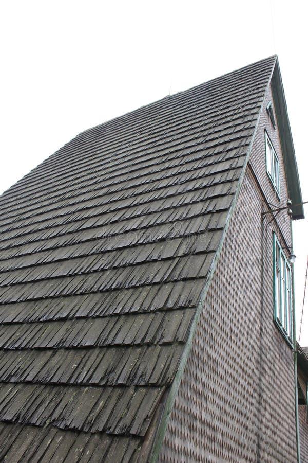 木结构老的技术 库存图片