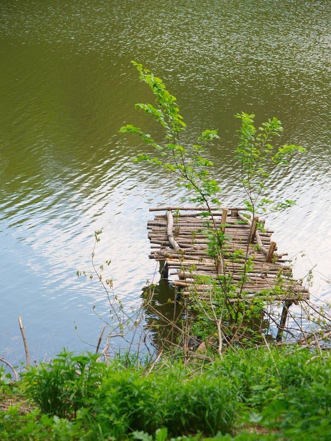 木老的码头 图库摄影
