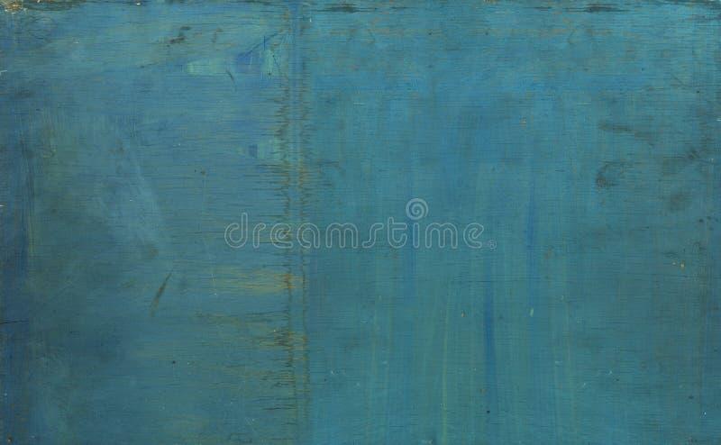 木老被绘的纹理 免版税库存照片