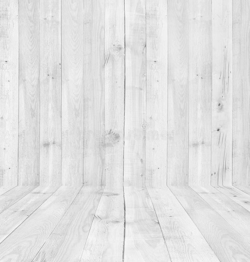 木背景的杉木板条白色纹理 库存照片