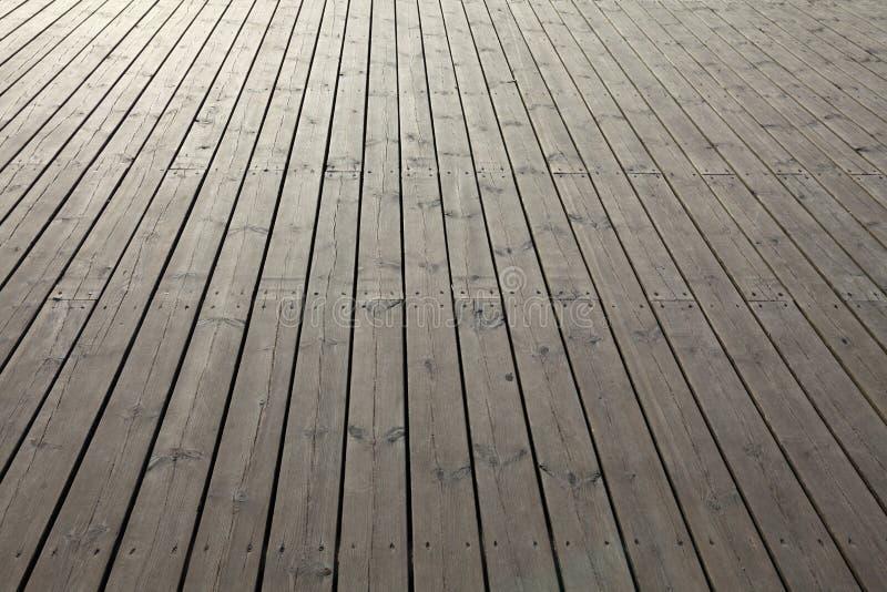 木背景的板条 库存照片
