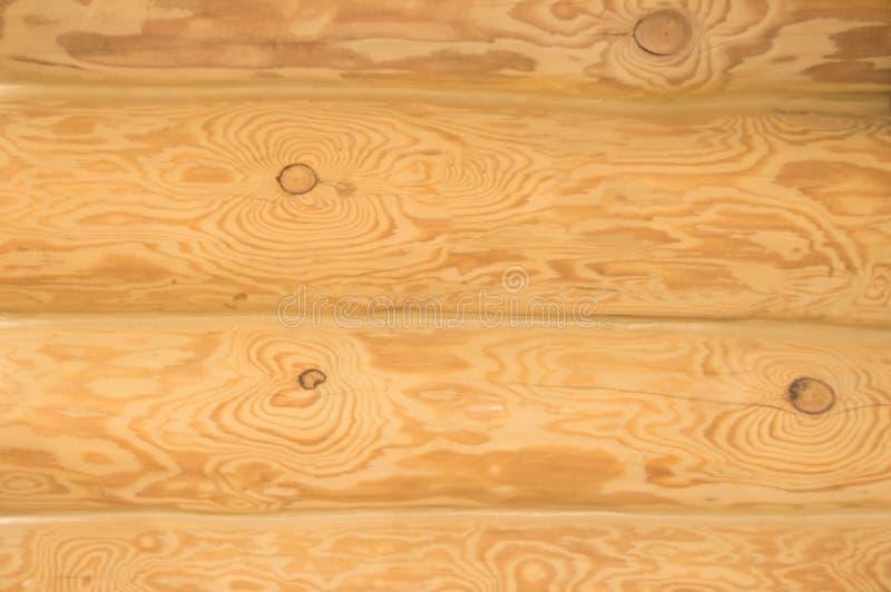木背景,轻的日志,木纹理,木墙壁 免版税库存图片