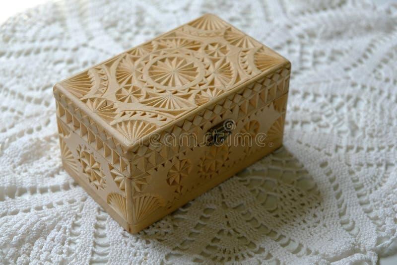 木胸口手工制造雕刻 对各种各样的目的 Mocap 库存图片