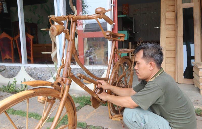 木自行车 库存图片
