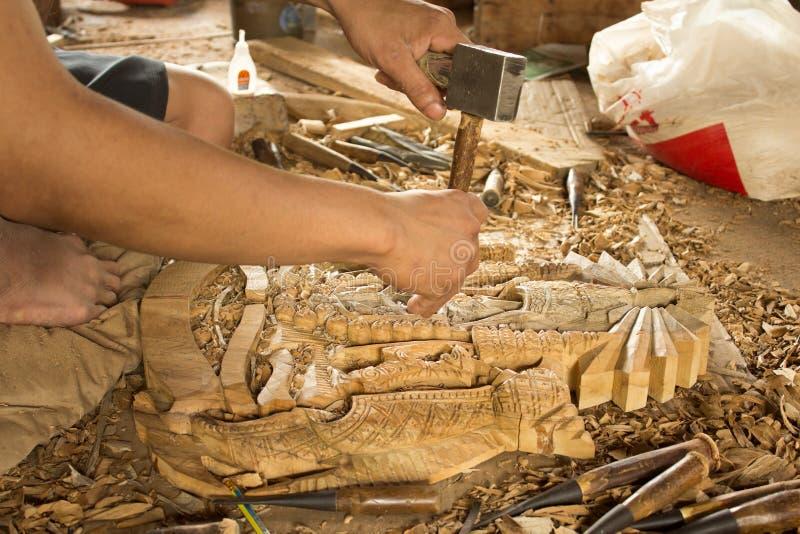 木艺术 免版税图库摄影