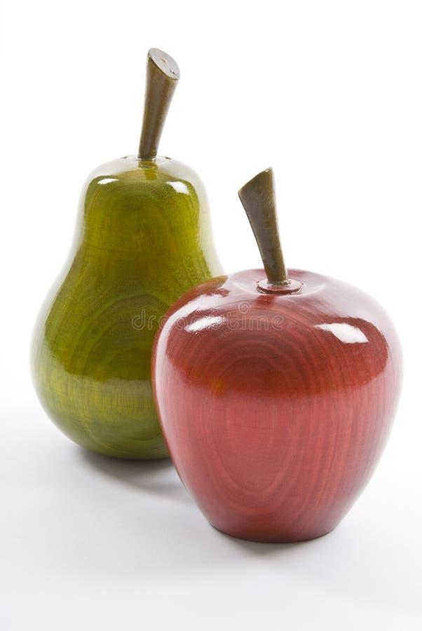 木苹果的梨 免版税库存图片